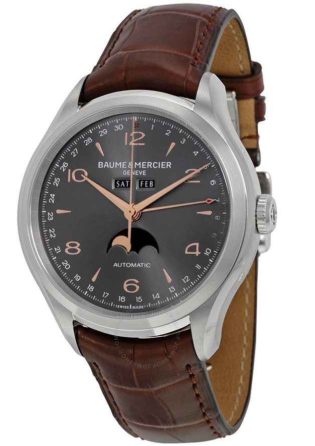 Baume & Mercier Clifton 43mm in Steel