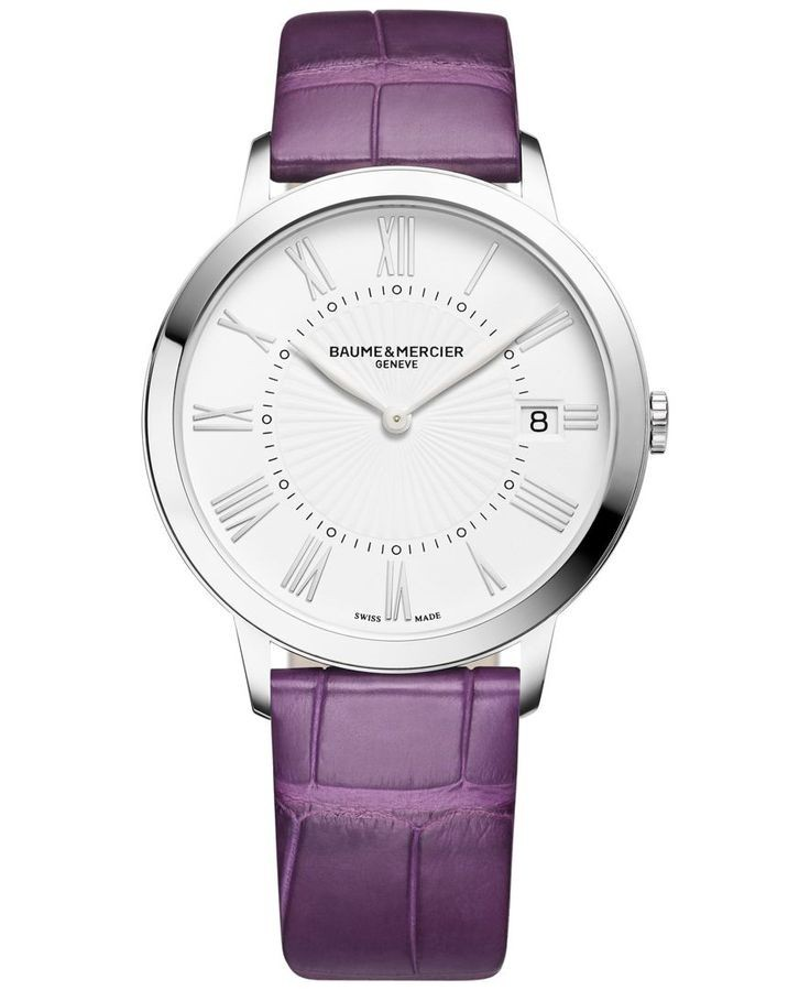Baume & Mercier Classima Executives 36mm in Steel
