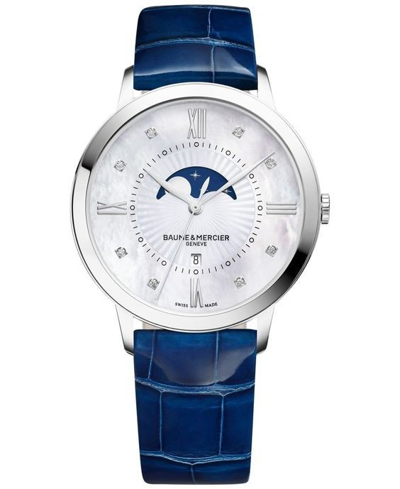 Baume & Mercier Classima 36mm in Steel