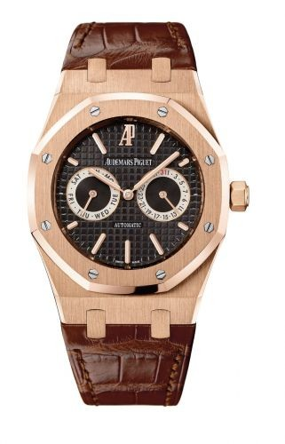 Royal Oak Day Date Pink Gold Campeon