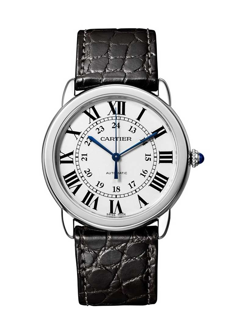 Cartier Ronde Solo Automatic in Steel