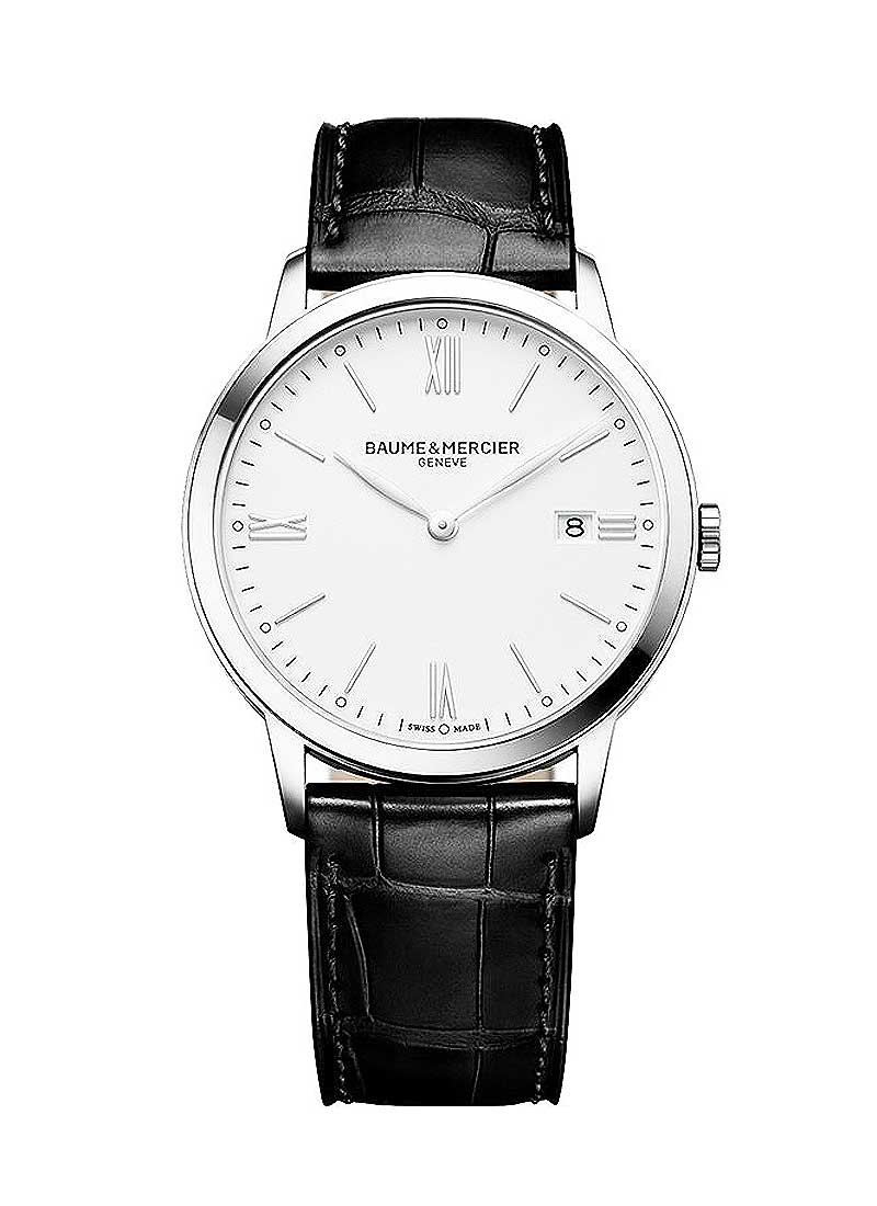 Baume & Mercier Classima 40mm in Stainless steel