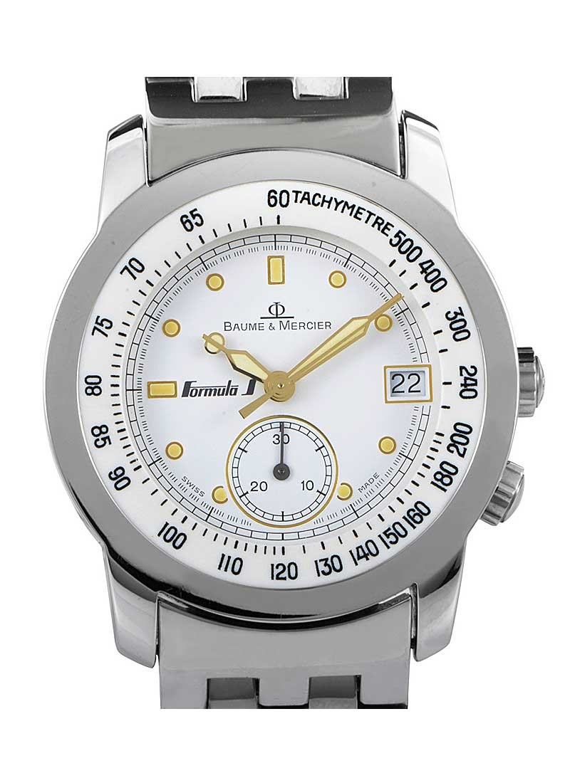 Baume & Mercier  Formula S Stainless Steel Chronograph Case