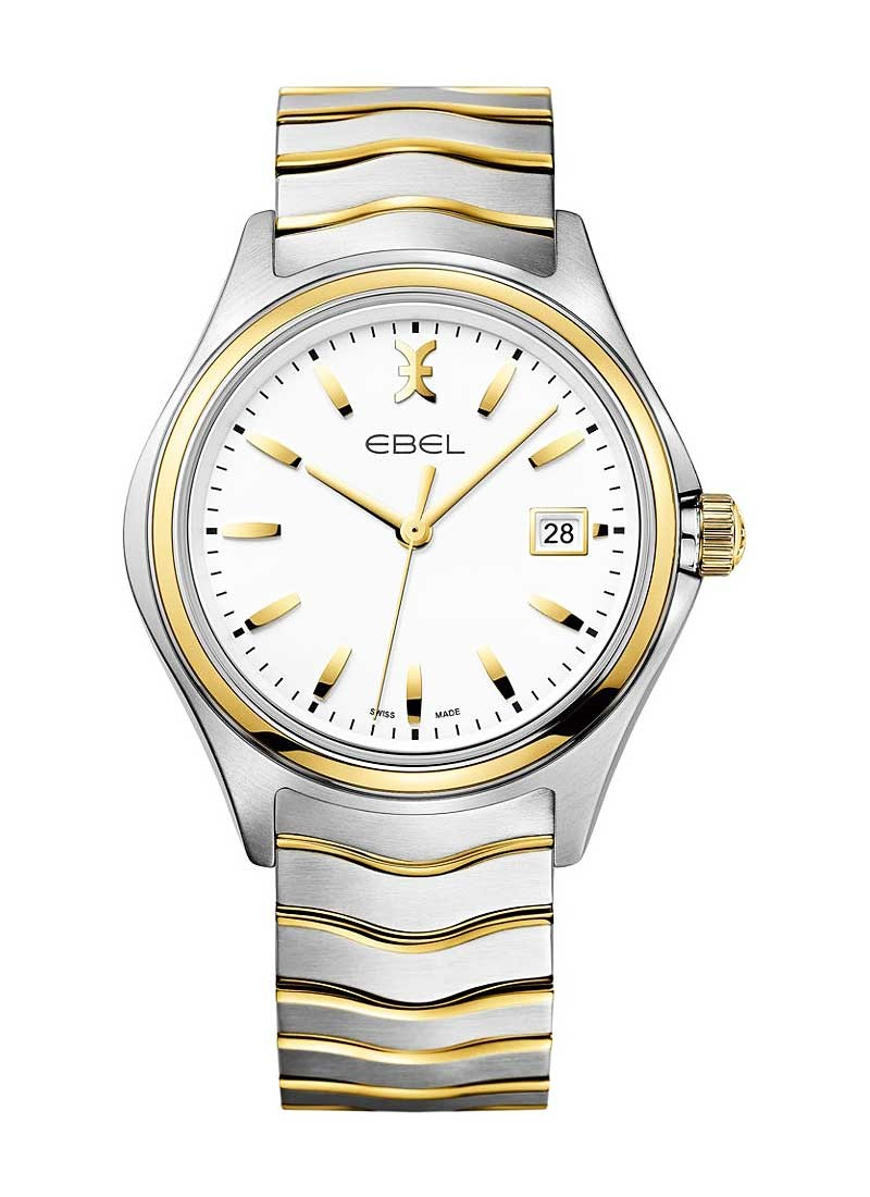 Ebel Men's Wave Gent 2 Tone in Stainless Steel & Yellow Gold