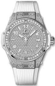 Hublot Big Bang One Click in Steel with Diamond Bezel