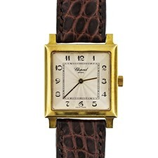 Chopard Classic Square in Yellow Gold