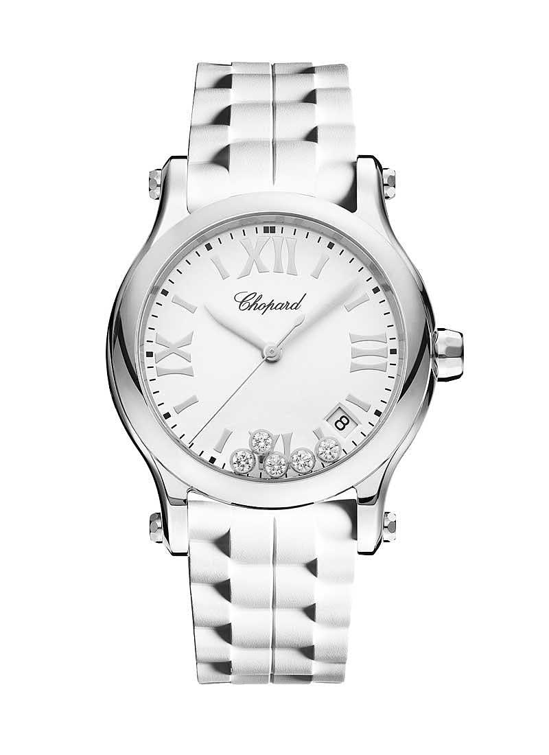 Chopard Happy Sport Round Quartz in Steel