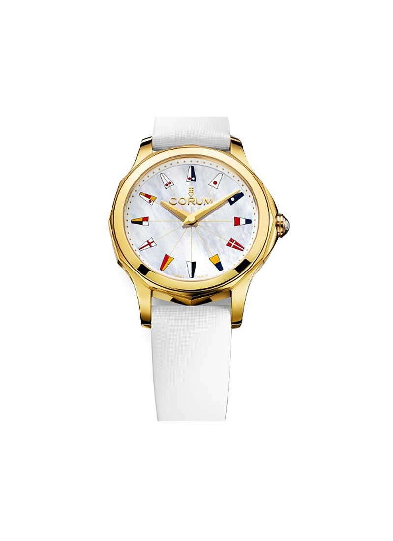 Corum Admirals Cup Legend 38mm in Yellow Gold