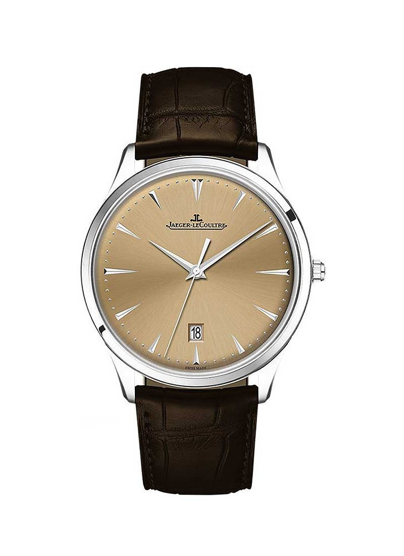 Jaeger - LeCoultre Master Ultra Thin 39mm in Steel