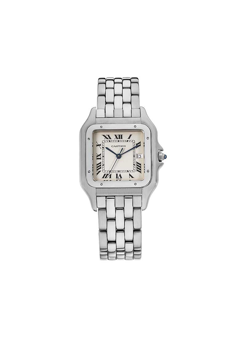Cartier Panthere Jumbo 29mm  in Steel