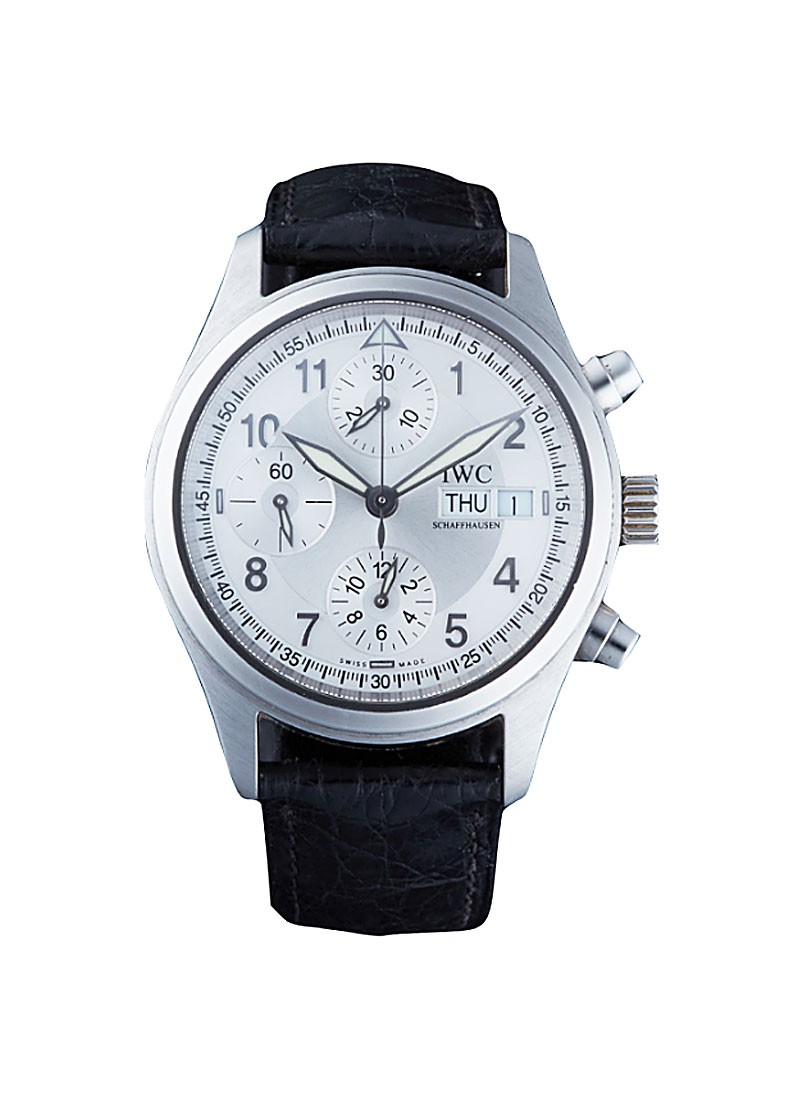 IWC Flieger Chronograph in Steel