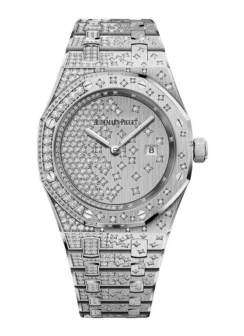 Audemars Piguet Royal Oak in White Gold with Diamonds