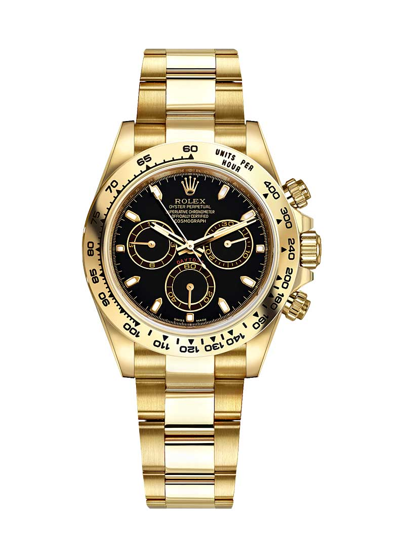 Rolex Unworn Daytona Power Reserve 40mm in Yellow Gold