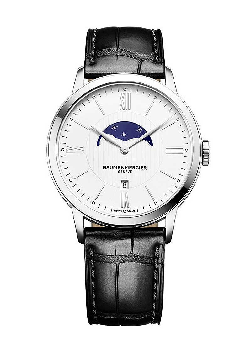 Baume & Mercier Classima Executives 40mm in Steel