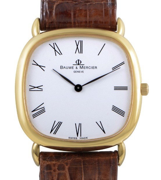 Baume & Mercier Hampton Classic in Yellow Gold