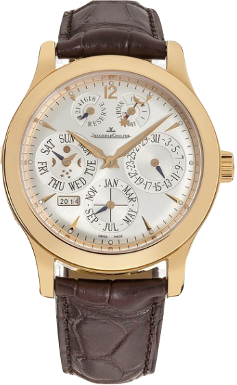 Jaeger - LeCoultre Master Control Perpetual Calendar in Rose Gold