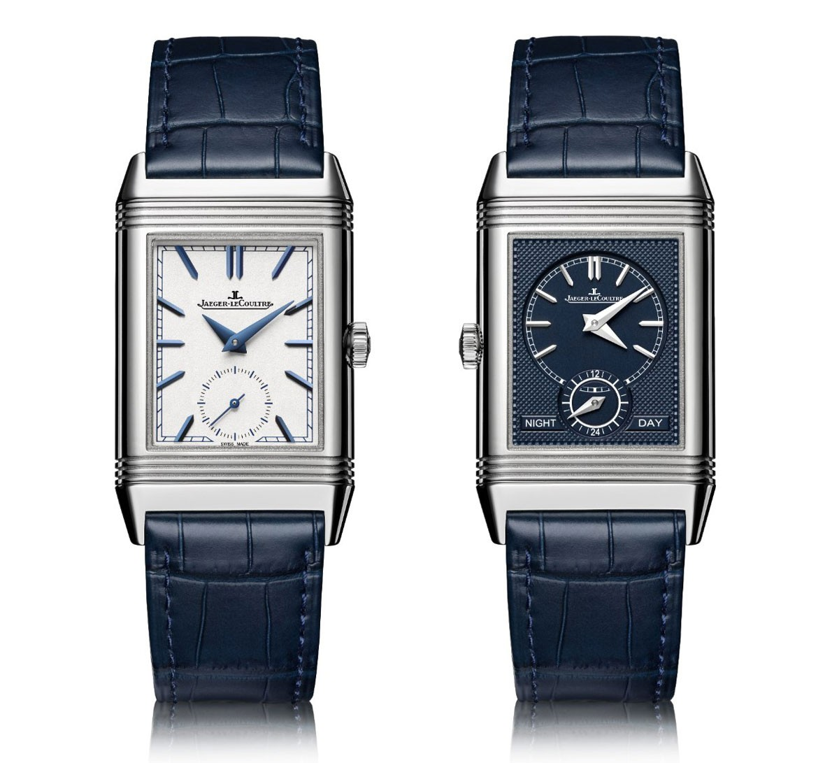 Jaeger - LeCoultre Reverso Tribute Duoface in Steel