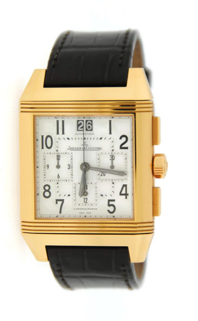 Jaeger - LeCoultre Reverso Squadra Chronograph in Rose Gold