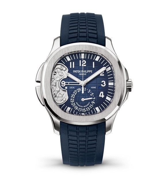 Patek Philippe Aquanaut Ref 5650G Travel Time in White Gold   Limited to 500 pieces