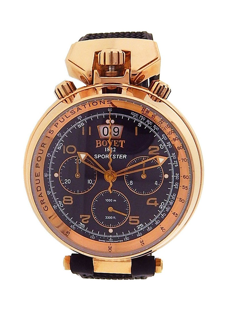 Bovet Amadeo Felurier in Rose Gold