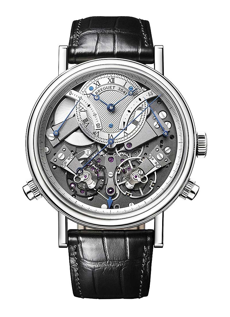 Breguet La Tradition Chronograph in White Gold