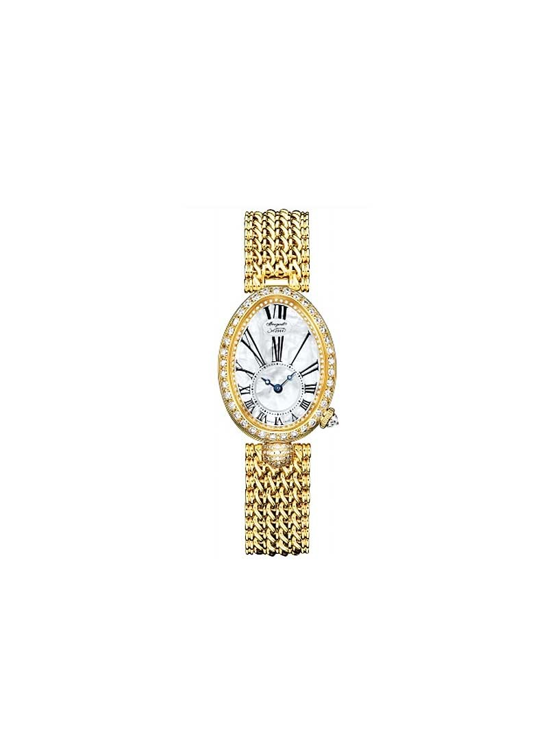 Breguet Queen of Naples in Yellow Gold with Diamond Bezel