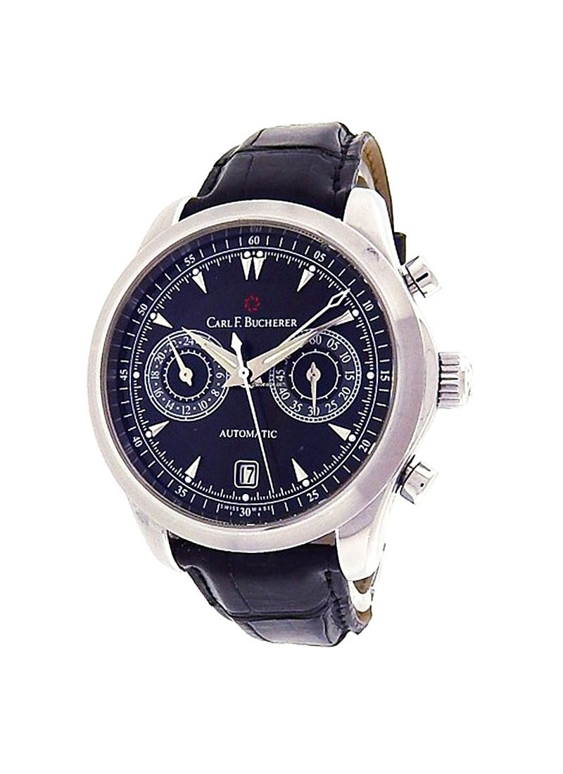Carl F. Bucherer  Manero Chronograph with Date 43mm Automatic in Steel