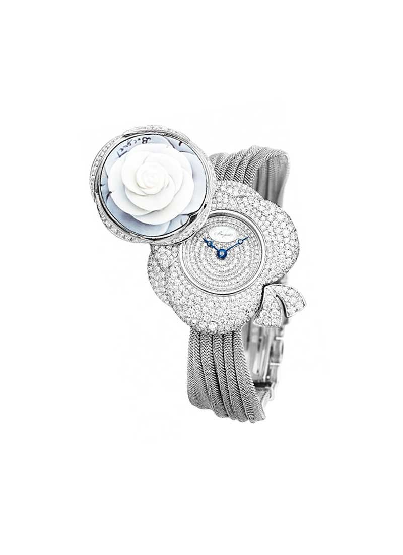 Breguet High Jewellery Collection in White Gold with Diamond