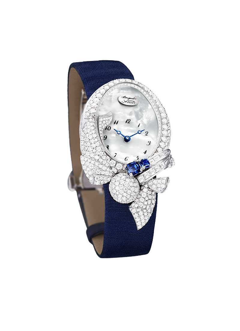 Breguet High Jewellery Timepiece in White Gold with Diamond Bezel