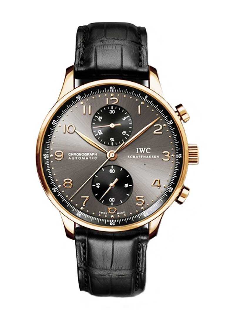 IWC Portugieser Chronograph 41mm in Rose Gold