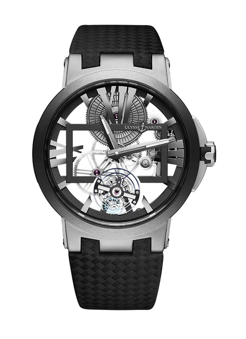 Ulysse Nardin Executive Tourbillion 45mm in Titanium with Black Ceramic Bezel