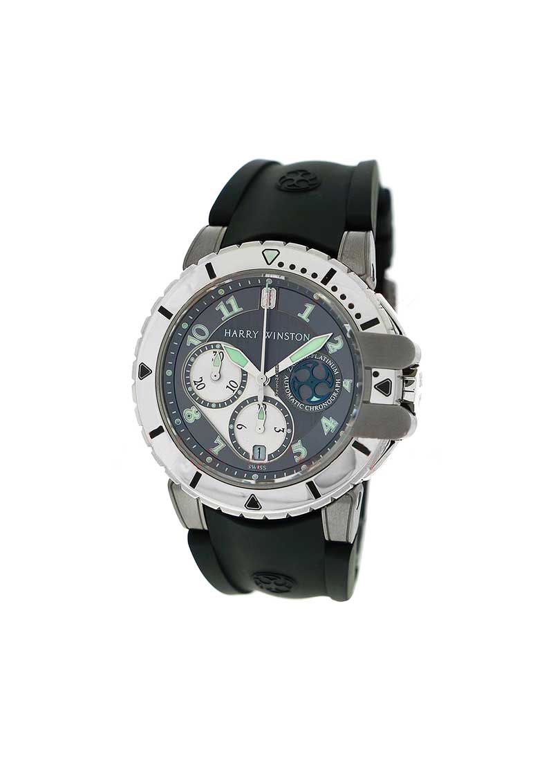 Harry Winston Z2 Chronograph Ocean Diver 44mm Automatic in Zalium/Platinum