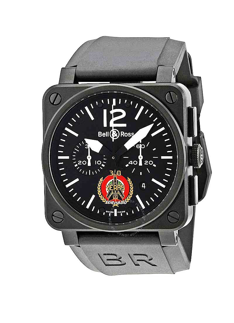 Bell & Ross BR 03-94 Tornado Chronograph in PVD Steel - Limited Edition