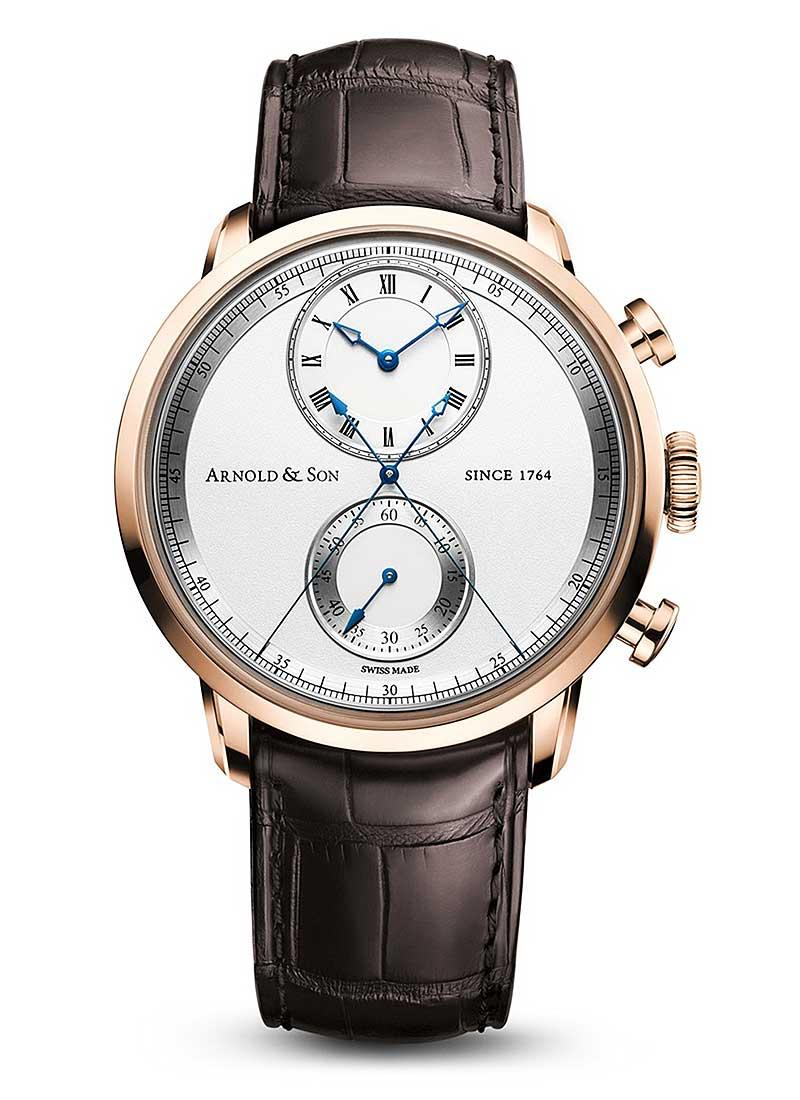 Arnold and Son CTB True Beat Seconds Chronograph 44mm Automatic in Rose Gold