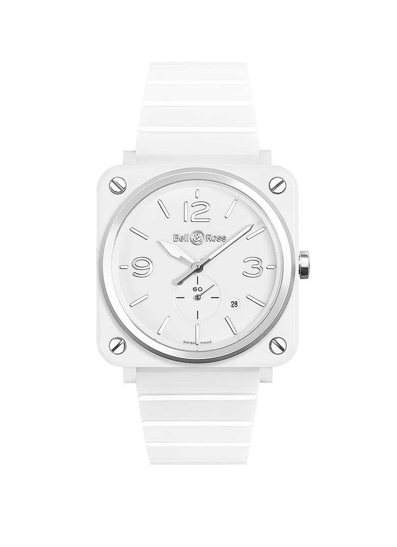 Bell & Ross BR-S Quartz in White Ceramic