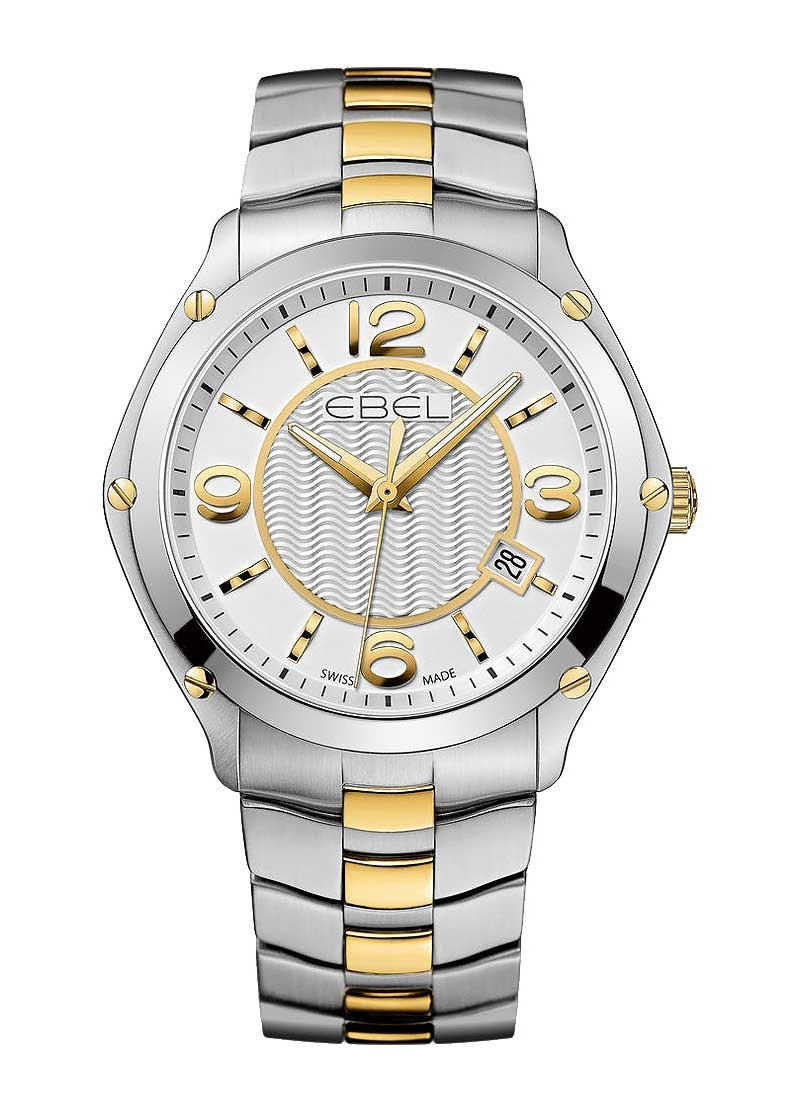 Ebel Classic Sport in Steel and Yellow Gold