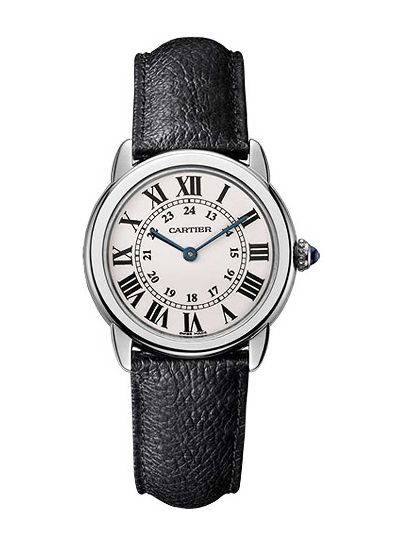 Cartier Ronde Solo De 29mm in Steel