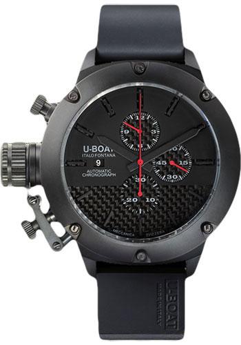 U-Boat ClassicoTitanium IPB Chrono 53mm in Titanium with IPB Black Coating