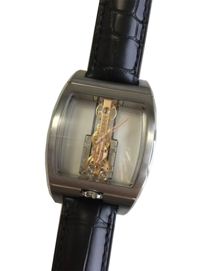 Corum Golden Bridge in Black Titanium
