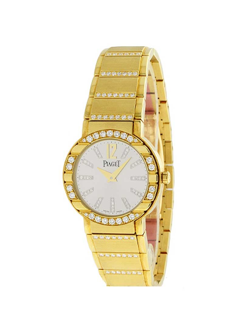 Piaget Polo Lady's 28mm in Yellow Gold with Diamond Bezel
