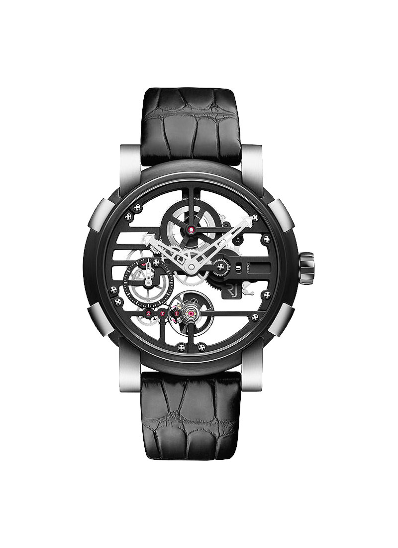 Romain Jerome Sky Lab 48 Speed Metal in Stainless Steel and PVD