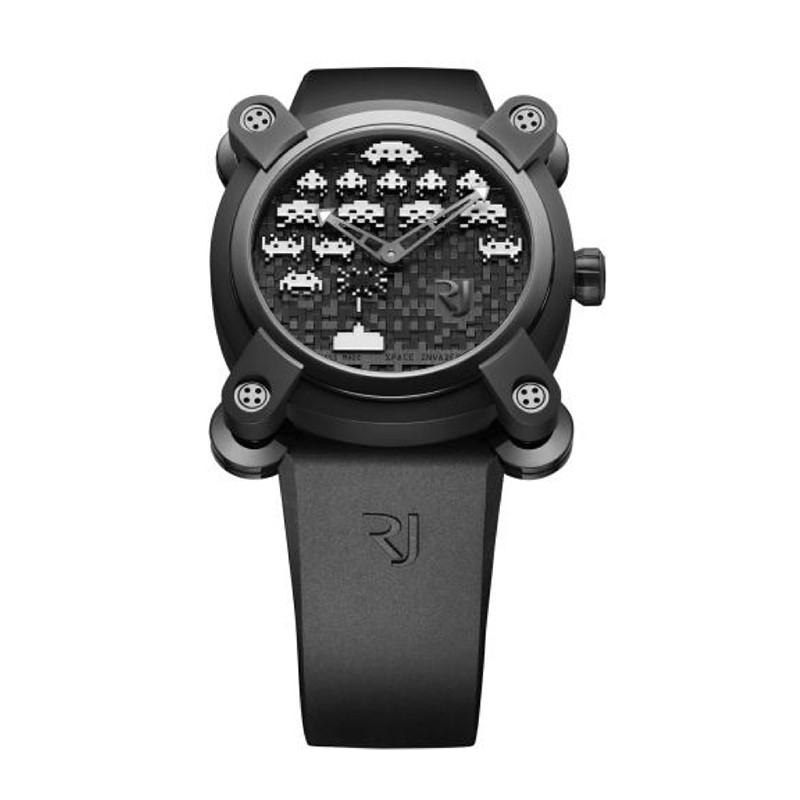Romain Jerome Space Invaders 40mm Automatic in PVD and Steel