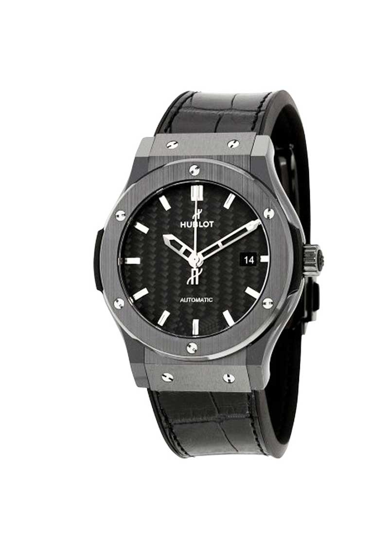 Hublot Classic Fusion 42mm in Black Ceramic