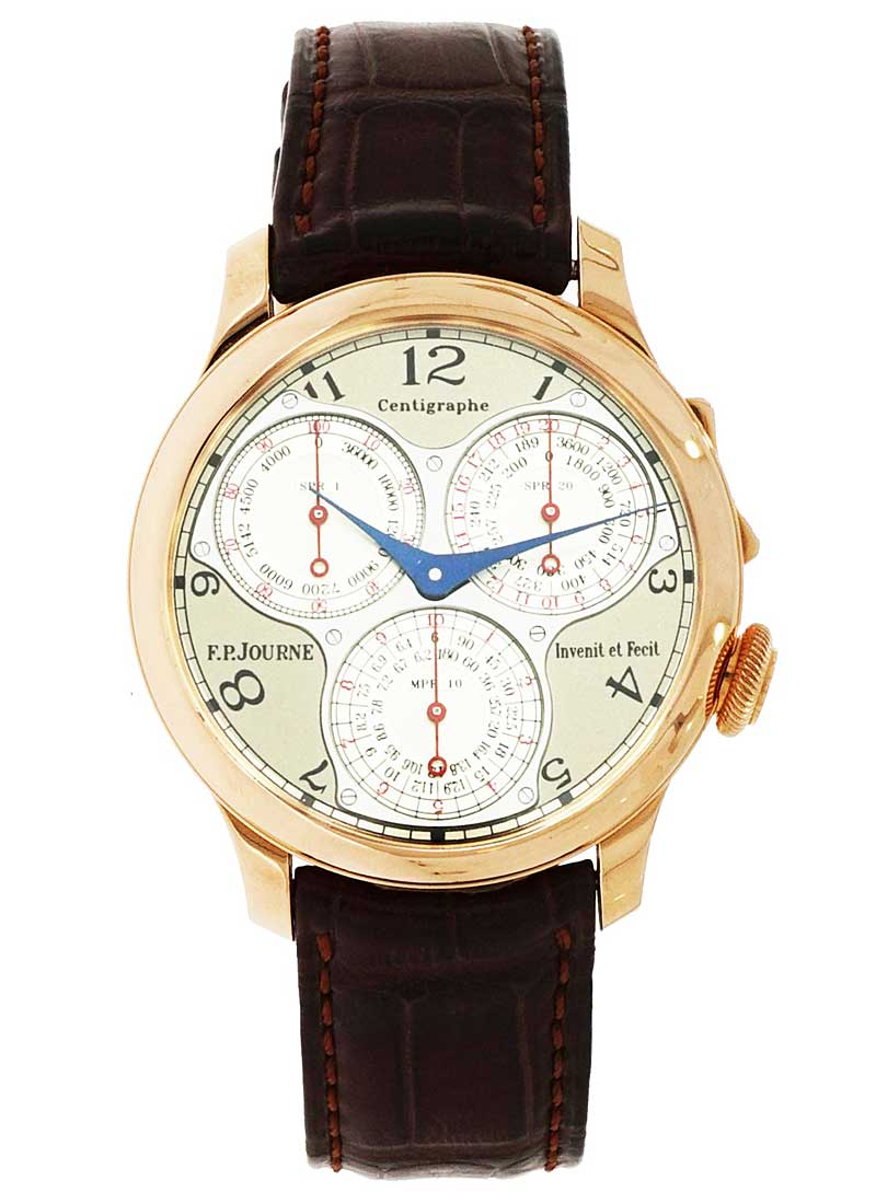 FP Journe Centigraphe Souverain 40mm in Rose Gold
