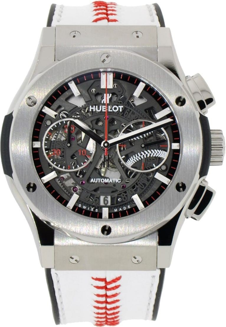 Hublot Classic Fusion Chronograph 45mm in Titanium   Limited Edition of 100 Pieces