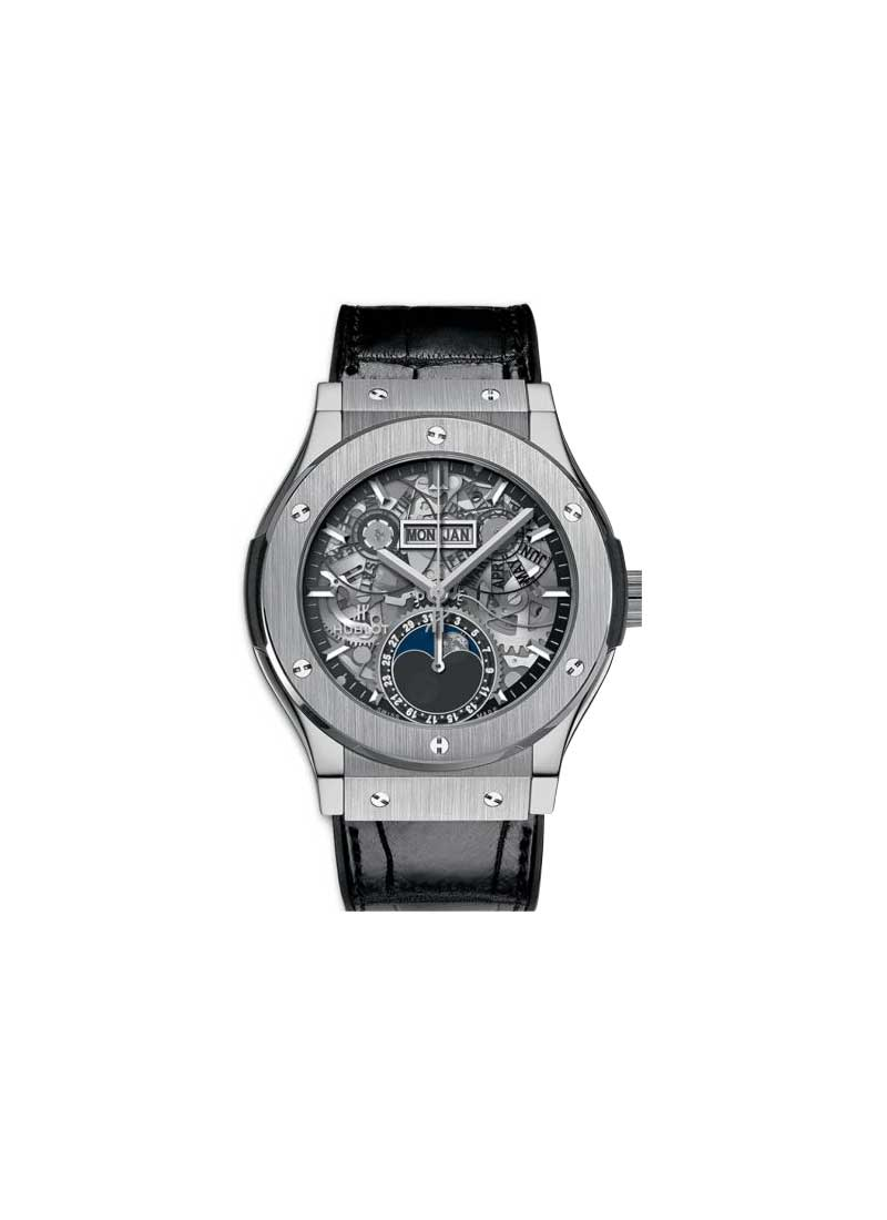 Hublot Classic Fusion Aerofusion Moonphase 42mm  in Titanium