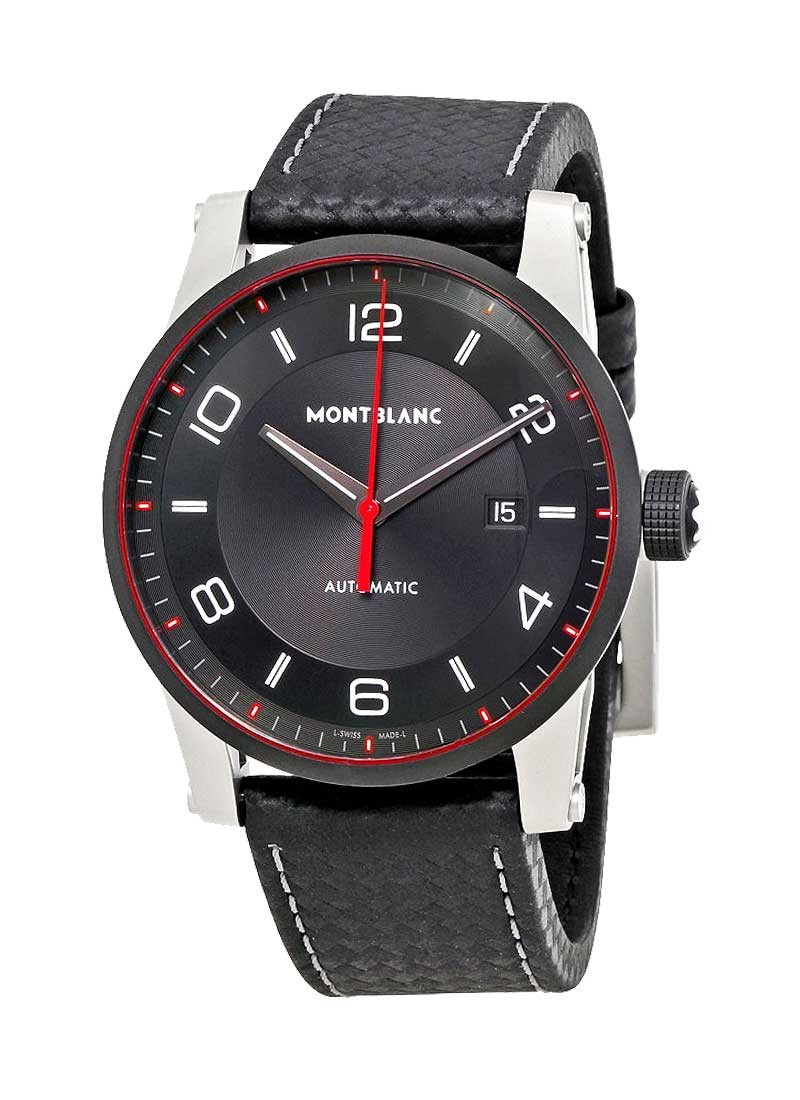 Montblanc TimeWalker 42mm Automatic in Microblasted Black PVD Steel