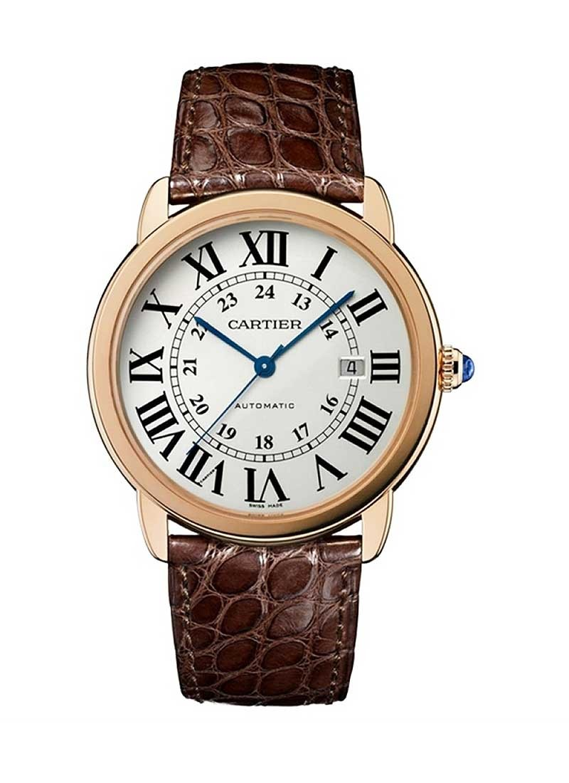 Cartier Ronde Solo 36mm in Rose Gold