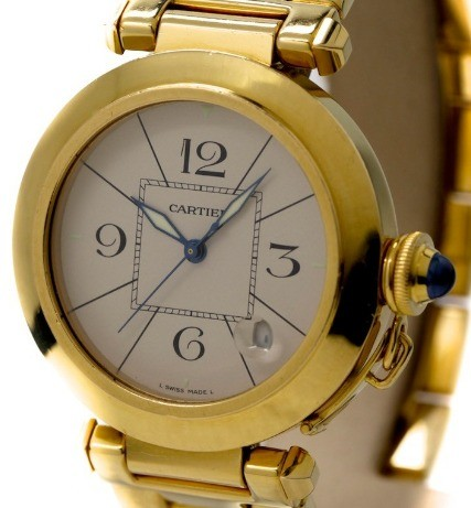 Cartier Pasha De 38mm in Yellow Gold