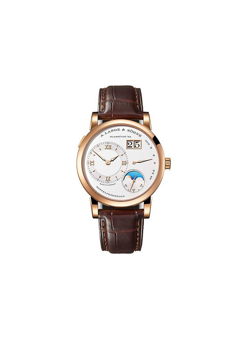 A. Lange & Sohne Lange 1 Moonphase in Rose Gold